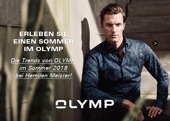 Die OLYMP Sommertrends 2018 bei Hemden Meister