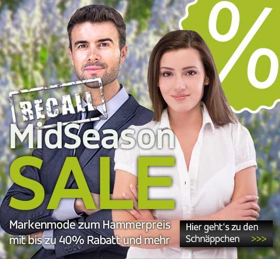 MidSeason Sale RECALL bei Hemden Meister