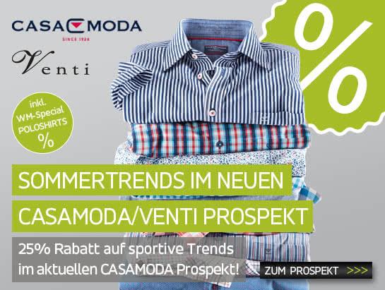 Zum neuen CASAMODA/VENTI Prospekt