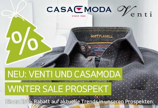 VENTI und CASAMODA Wintersale Prospekt