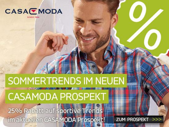Sommertrends im neuen CASAMODA Prospekt