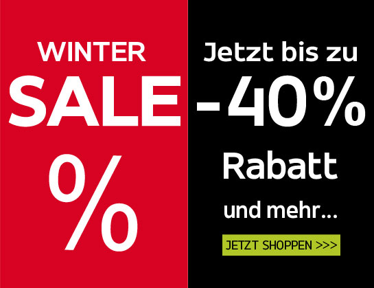 Winter Sale bei Hemden Meister