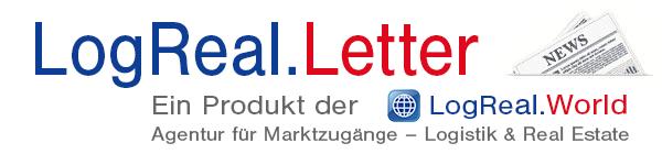 LogReal.Letter – Ein Produkt der LogReal.World: Agentur für Marktzugänge - Logistik & Real Estate